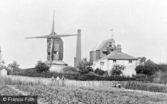 Edmonton, the Windmill c1920