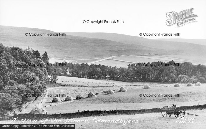 Photo of Edmundbyers, A View Of The Moors c.1955