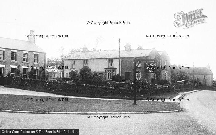 Photo of Edmundbyers, Punch Bowl Inn c.1955