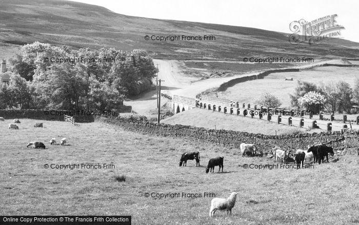 Photo of Edmundbyers, The Bridge And Stanhope Road c.1960