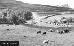 The Bridge And Stanhope Road c.1960, Edmundbyers