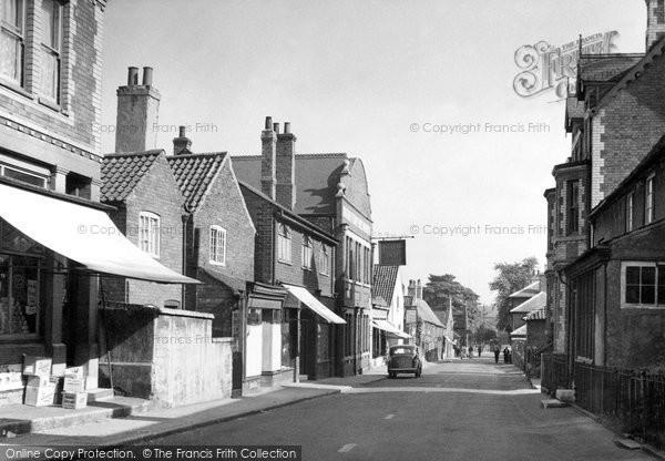 Edwinstowe, High Street c1955