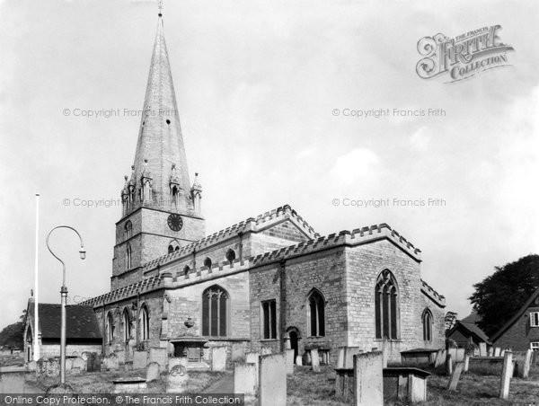 Edwinstowe, St Mary's Church c1960