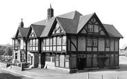 Edwinstowe, the Dukeries Hotel c1955