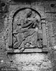 Castle, Bas-Relief Of Angus 1950, Edzell