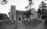 Effingham, Church of St Lawrence c1955