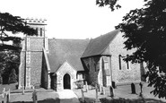 Effingham, Church Of St Lawrence c.1965