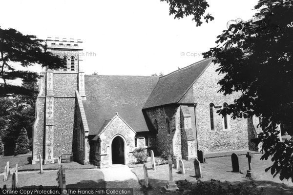 Effingham, the Church c1955