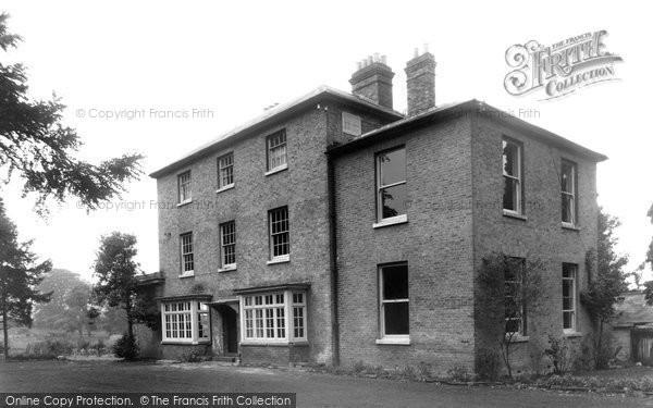 Effingham, Hill, Grove House c1955
