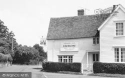 Egerton, The George Inn c.1955