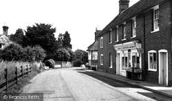 Egerton, The Street c.1955