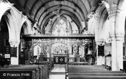 Egg Buckland, Church Interior c.1955, Eggbuckland