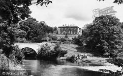 Eggleston, Eggleston Hall And The River Tees c.1960