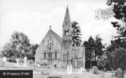 Eggleston, Holy Trinity Church c.1955