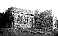 Eglistone Abbey, 1890