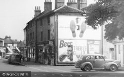 Egham, Adverts, High Street c.1955