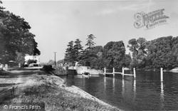 Egham, Bell Weir Lock c.1960