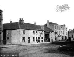Egham, Catherine Wheel Hotel c.1900