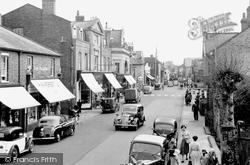 Egham, High Street 1952