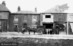 Egham, High Street c.1900