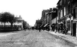Egham, High Street c.1907