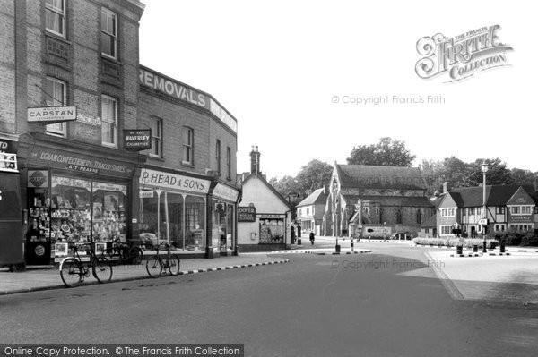 Photo of Egham, High Street c1950