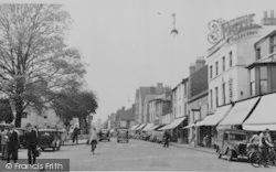 Egham, High Street c.1952