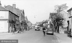 Egham, High Street c.1955