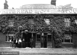 Egham, Kings Head Hotel c.1907