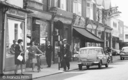 Egham, Mini Van, High Street c.1965