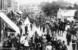 Egham, Procession c.1901