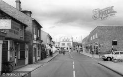 Egham, Station Road c.1965