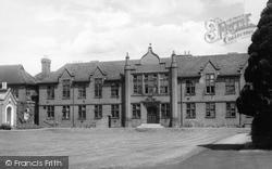 Egham, Strode's School c.1955