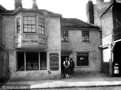 Egham, The Nags Head c.1890