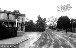 Egham, The Victoria Inn, Glanty c.1900