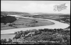 The Conway River From Tal-Y-Cafn c.1955, Eglwysbach