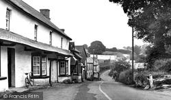 Eglwyswrw, The Village c.1955