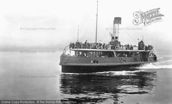 Egremont, Ferry Boat, Pansy 1912