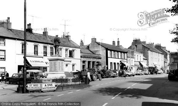 Egremont, Market Place c1960.  (Neg. E192008)  © Copyright The Francis Frith Collection 2008. http://www.francisfrith.com