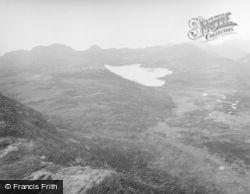 Eigg, Loch Na Mnà Mòire (Loch Nam Ban Mòra) From Sgùrr 1957