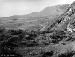 Eigg, Road To Cleadale 1957