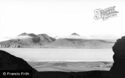 Eigg, View Of Rhum c.1950