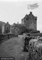 Eilean Donan, Castle 1952