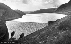 Elan Valley, Caban Coch c.1960