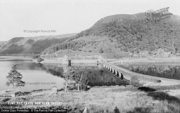 Photo of Elan Valley, Careg Ddu c.1960