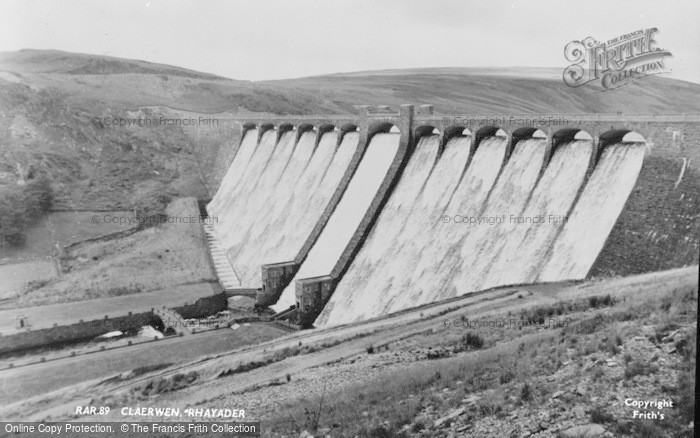 Photo of Elan Valley, Claerwen c.1960