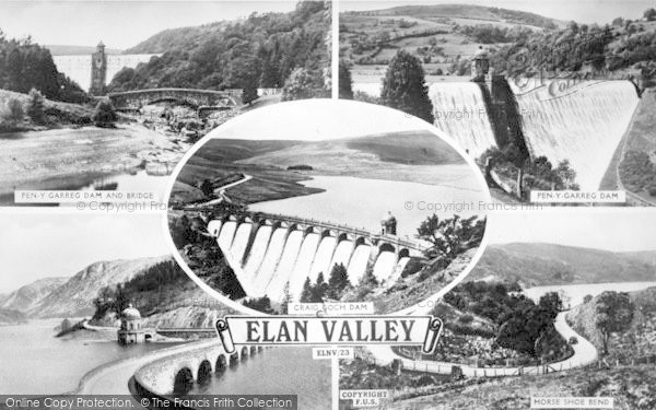 Photo of Elan Valley, Composite c.1955