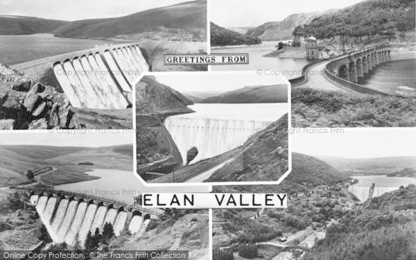 Photo of Elan Valley, Composite c.1960