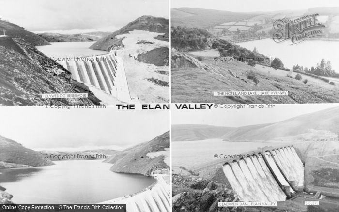 Photo of Elan Valley, Composite c.1960