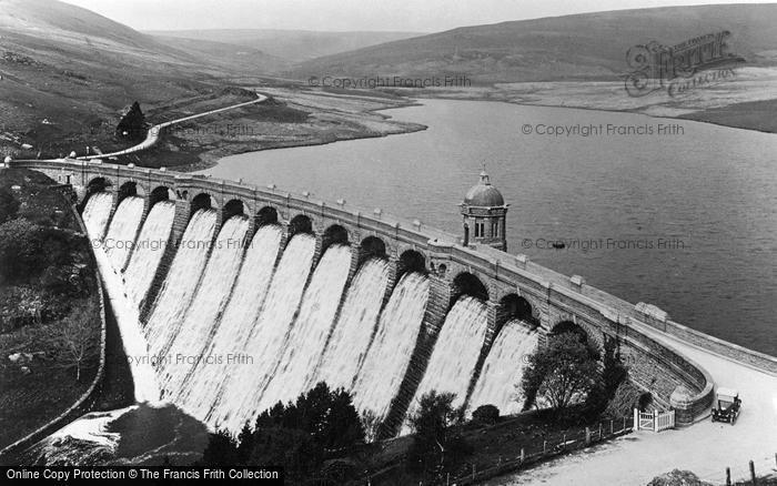 Photo of Elan Valley, Craig Goch Dam c.1950